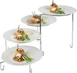 Stojak na cztery talerze